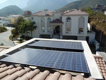 arquitectura verde - paneles solares